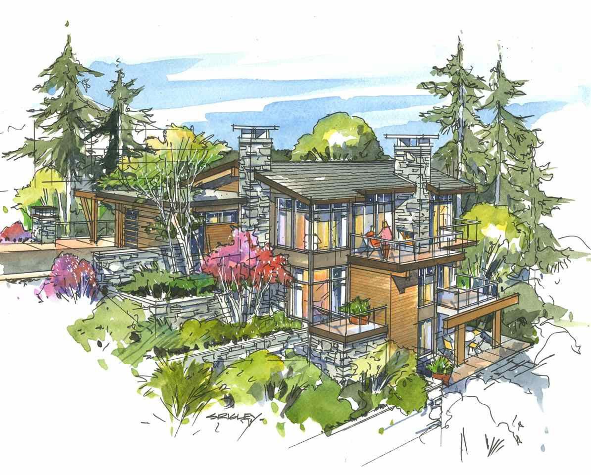 """Main Photo: 2820 RODGERS CREEK Lane in West Vancouver: Whitby Estates House for sale in """"THE ESTATE AT RODGERS CREEK"""" : MLS®# R2119185"""