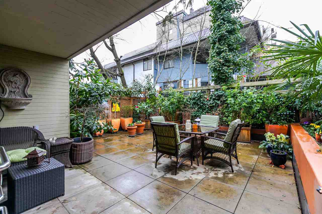 Huge private patio with tonnes of natural light. South, West and North exposures