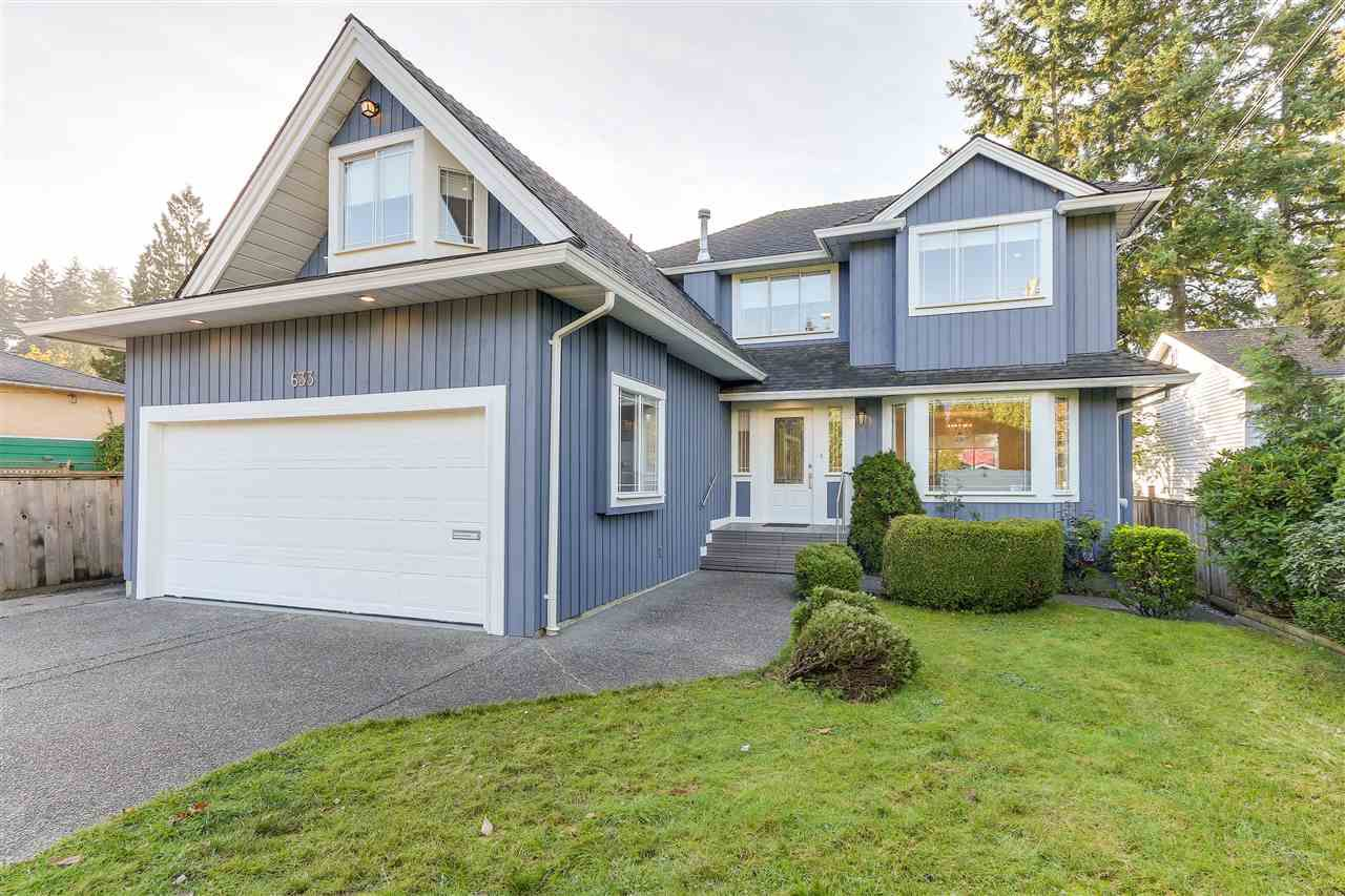 """Main Photo: 633 FIR Street in North Vancouver: Hamilton House for sale in """"Hamilton"""" : MLS®# R2216128"""