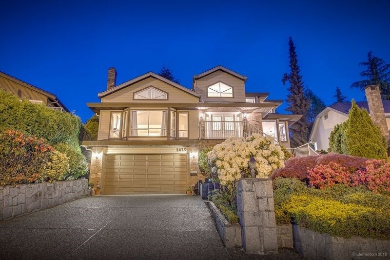 Main Photo: 1413 LANSDOWNE Drive in Coquitlam: Upper Eagle Ridge House for sale : MLS®# R2266665