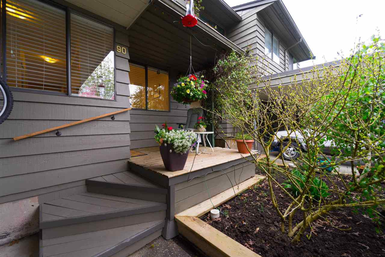 """Main Photo: 90 1950 CEDAR VILLAGE Crescent in North Vancouver: Westlynn Townhouse for sale in """"MOUNTAIN ESTATES"""" : MLS®# R2267219"""