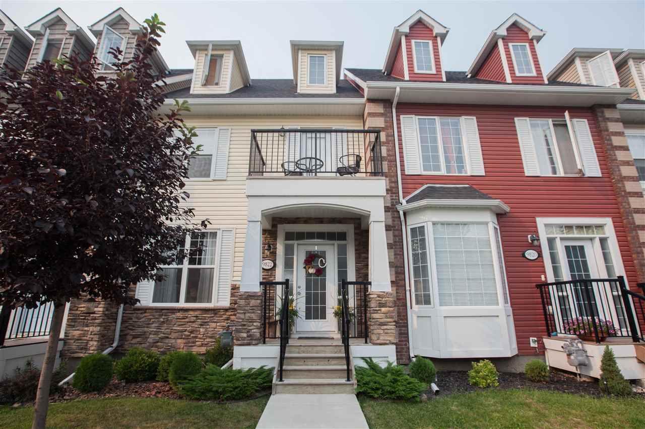 Main Photo: 9822 105 Avenue: Morinville Attached Home for sale : MLS®# E4124986