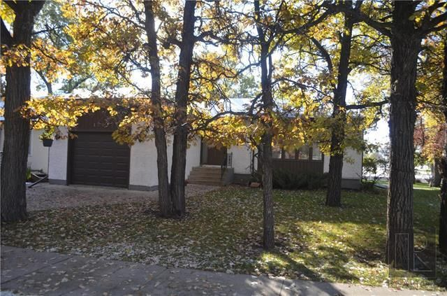 Lovely treed lot with huge oak trees!