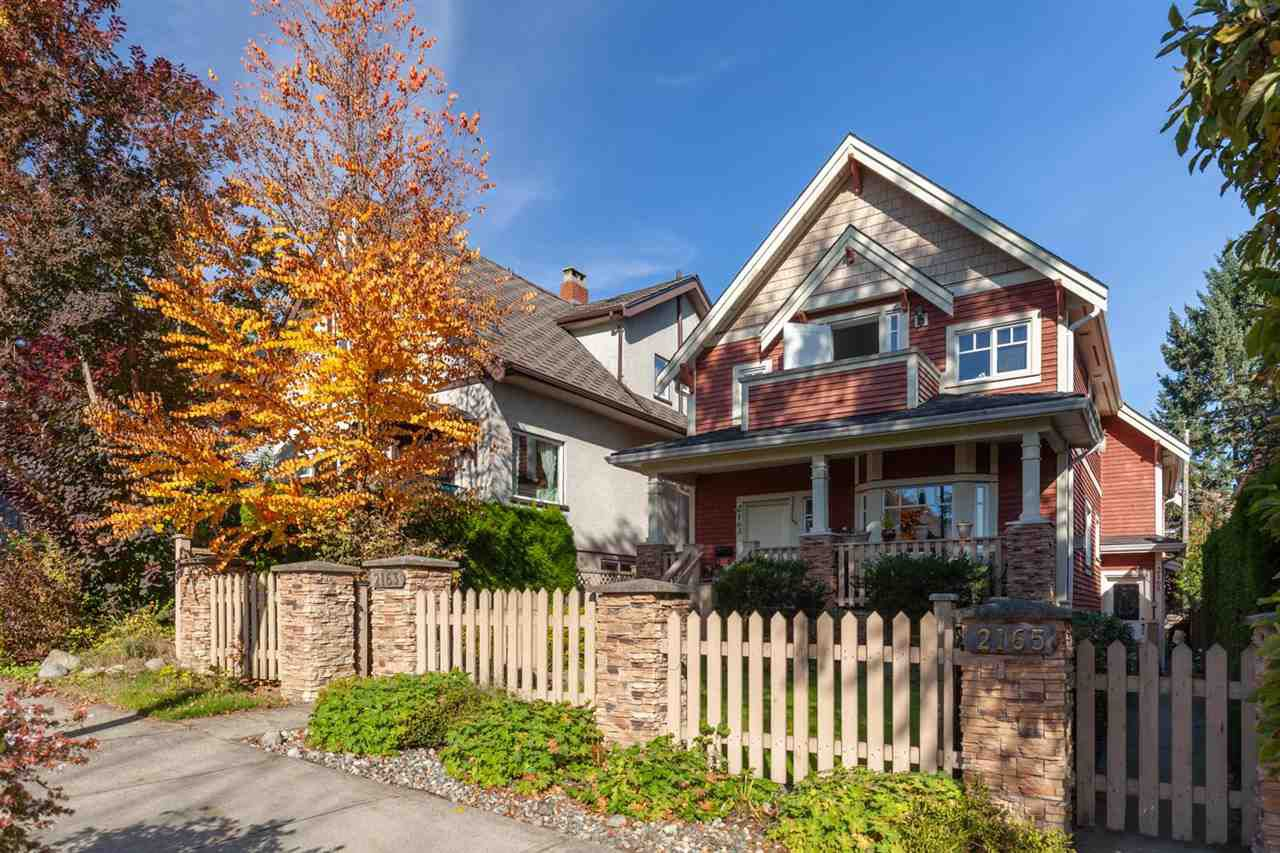 """Main Photo: 2163 NAPIER Street in Vancouver: Grandview VE House 1/2 Duplex for sale in """"COMMERCIAL DRIVE"""" (Vancouver East)  : MLS®# R2319225"""