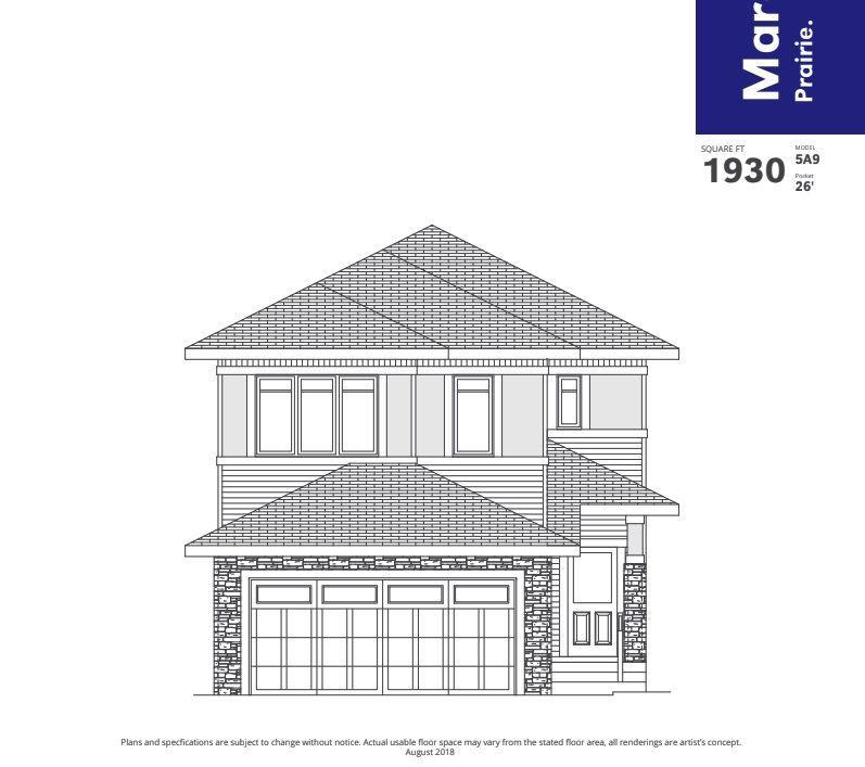 Main Photo: 581 MERLIN Landing in Edmonton: Zone 59 House for sale : MLS®# E4136656