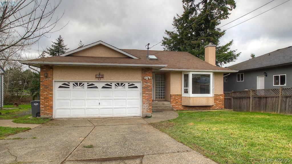 Main Photo: 4310 Dieppe Road in VICTORIA: SE High Quadra Single Family Detached for sale (Saanich East)  : MLS®# 405095