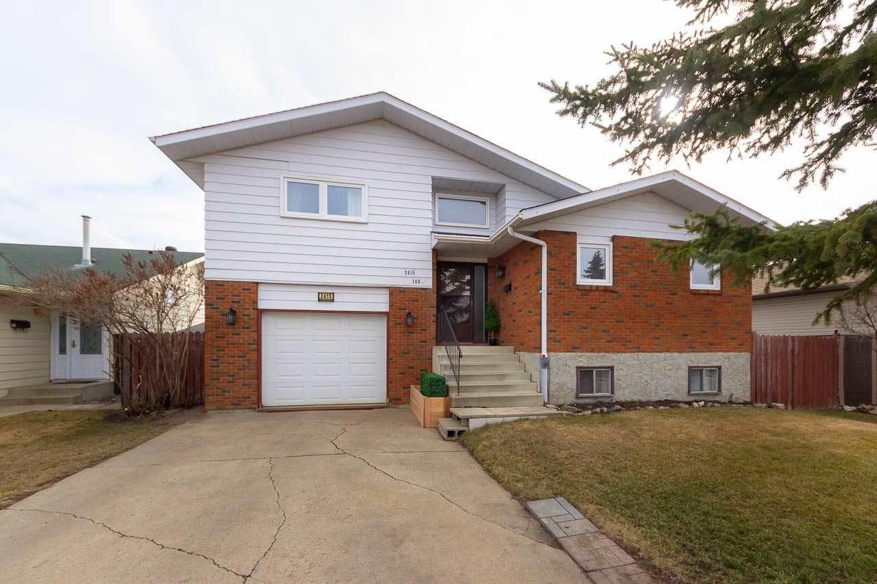 Main Photo: 2415 146 Avenue in Edmonton: Zone 35 House for sale : MLS®# E4152743