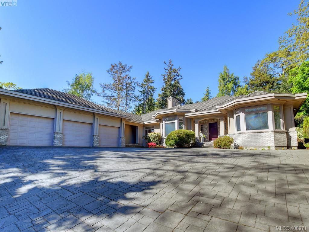 Main Photo: 3220 Exeter Road in VICTORIA: OB Uplands Single Family Detached for sale (Oak Bay)  : MLS®# 408971