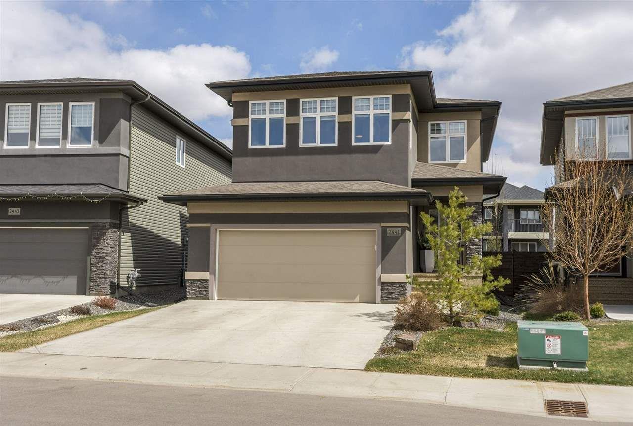 Main Photo: 2441 WARE Crescent in Edmonton: Zone 56 House for sale : MLS®# E4154652