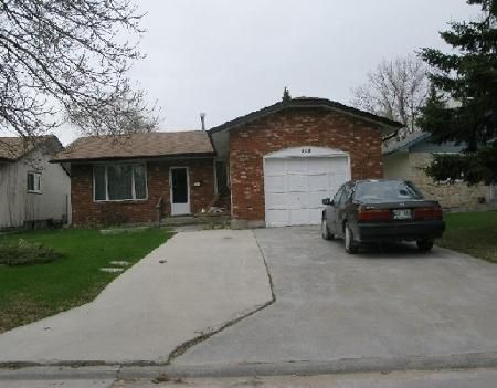 Photo 1: Photos: 262 MAHONEE DR in WINNIPEG: Residential for sale (Sun Valley)  : MLS®# 2908558