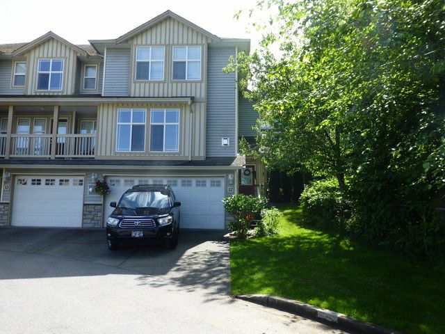 Main Photo: # 12 46906 RUSSELL RD in Sardis: Promontory Townhouse for sale : MLS®# H1301997