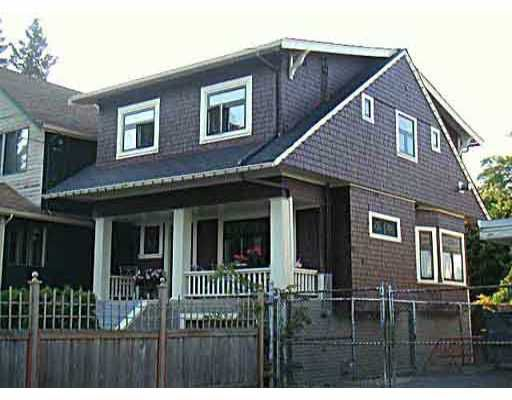 Main Photo: 2153 W 8TH AV in : Kitsilano House for sale (Vancouver West)  : MLS®# V396988