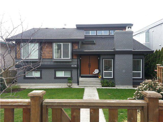 Main Photo: 15316 ROYAL Avenue: White Rock House for sale (South Surrey White Rock)  : MLS®# F1435434