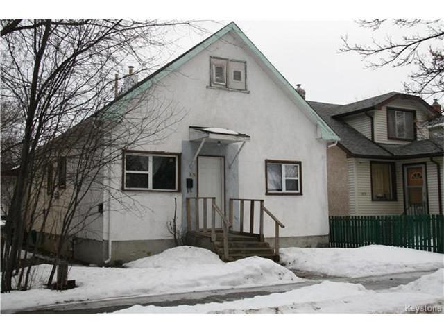 Main Photo: 826 Alfred Avenue in Winnipeg: Residential for sale (4B)  : MLS®# 1703346