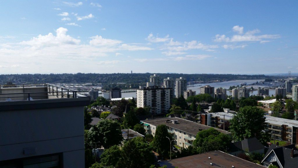 Main Photo: 1001 258 Sixth Street in New Westminster: Uptown NW Condo for sale : MLS®# r2161093