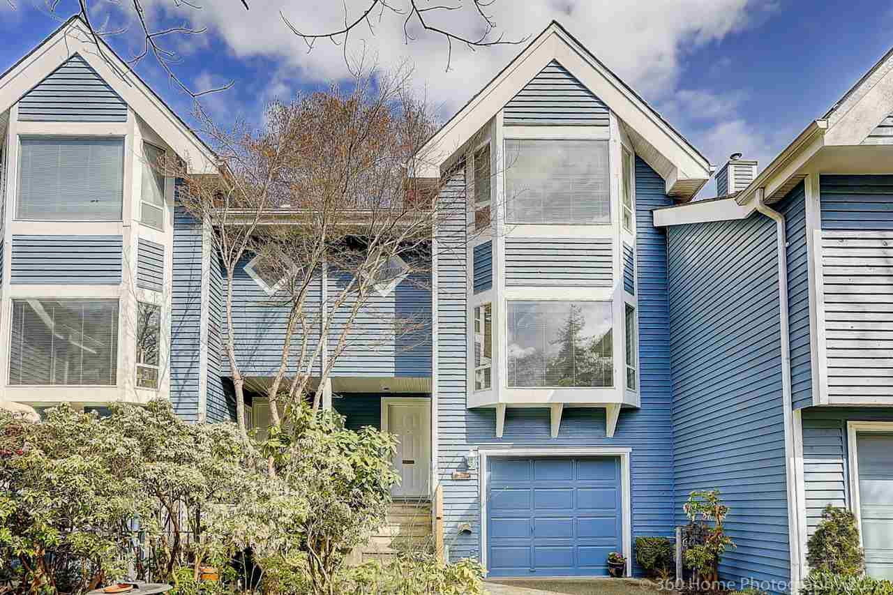 "Main Photo: 3344 FLAGSTAFF Place in Vancouver: Champlain Heights Townhouse for sale in ""COMPASS POINT"" (Vancouver East)  : MLS®# R2252960"