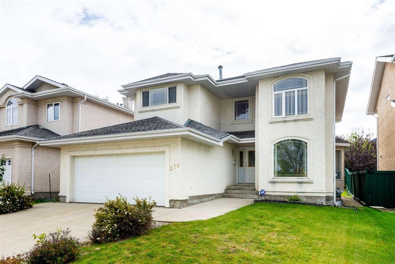 Main Photo: 370 HEATH Road in Edmonton: Zone 14 House for sale : MLS®# E4148200