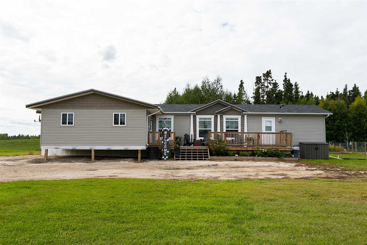Main Photo: 56506 Rge Rd 33: Rural Lac Ste. Anne County Manufactured Home for sale : MLS®# E4151635