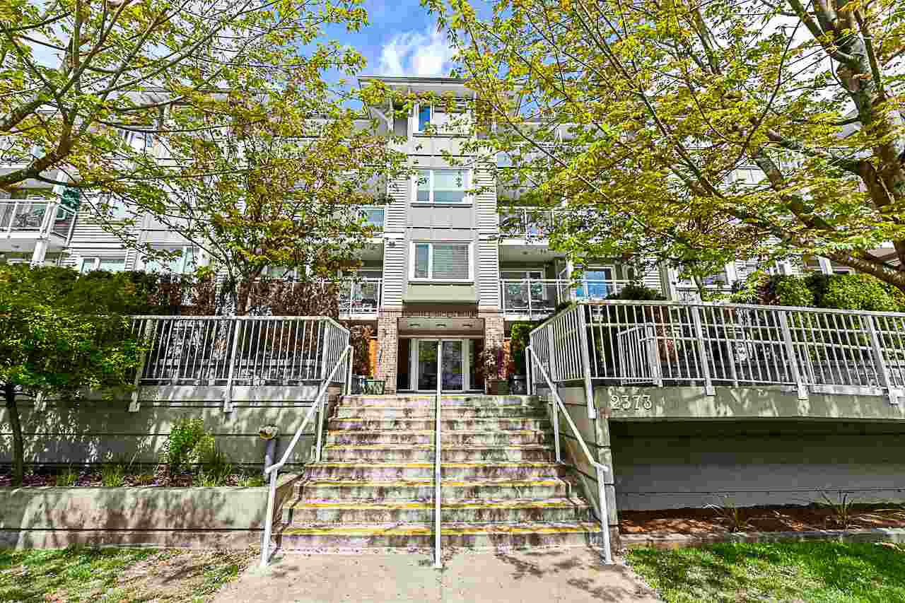 "Main Photo: 209 2373 ATKINS Avenue in Port Coquitlam: Central Pt Coquitlam Condo for sale in ""Carmandy"" : MLS®# R2365119"