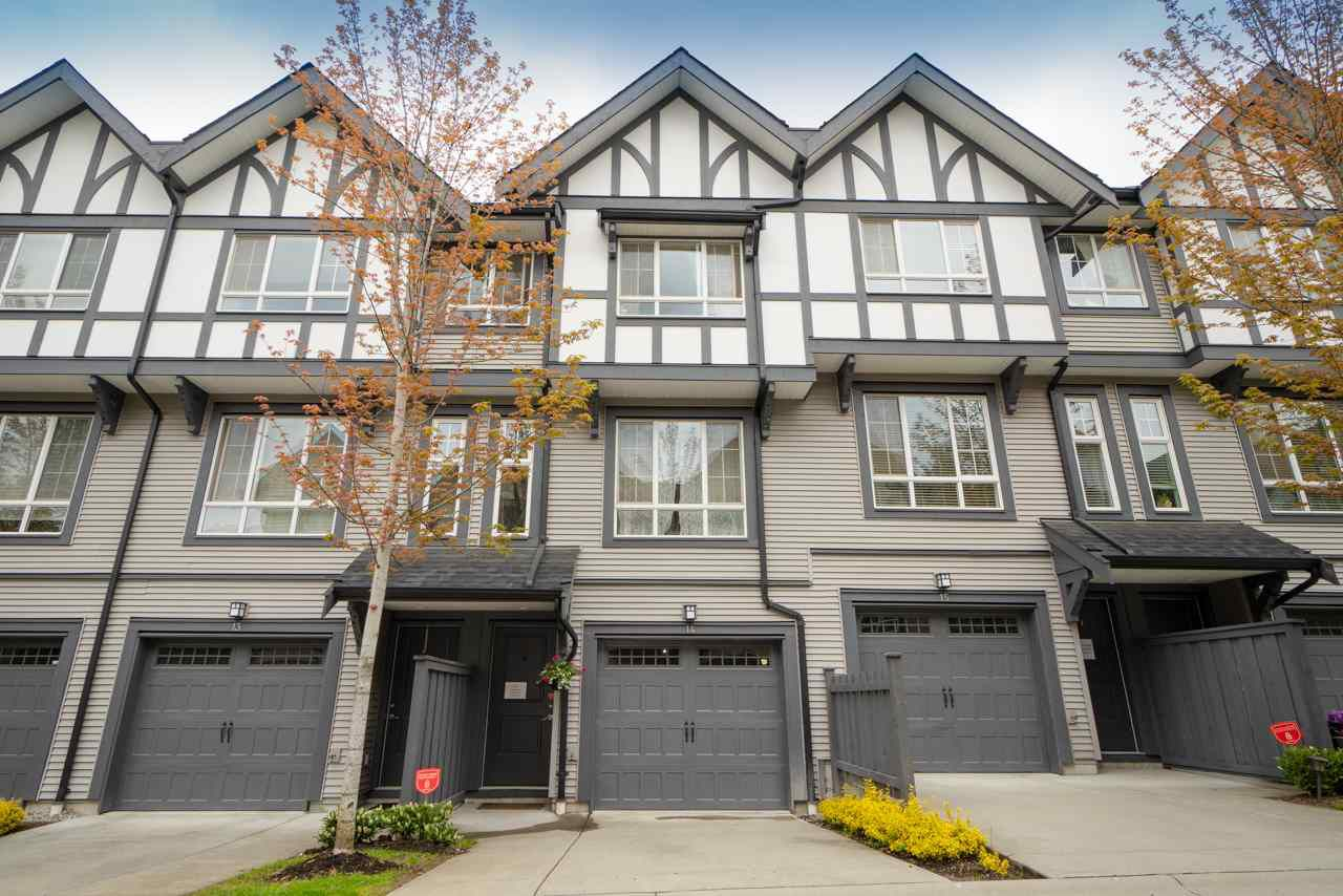 """Main Photo: 14 1338 HAMES Crescent in Coquitlam: Burke Mountain Townhouse for sale in """"Farrington"""" : MLS®# R2366567"""