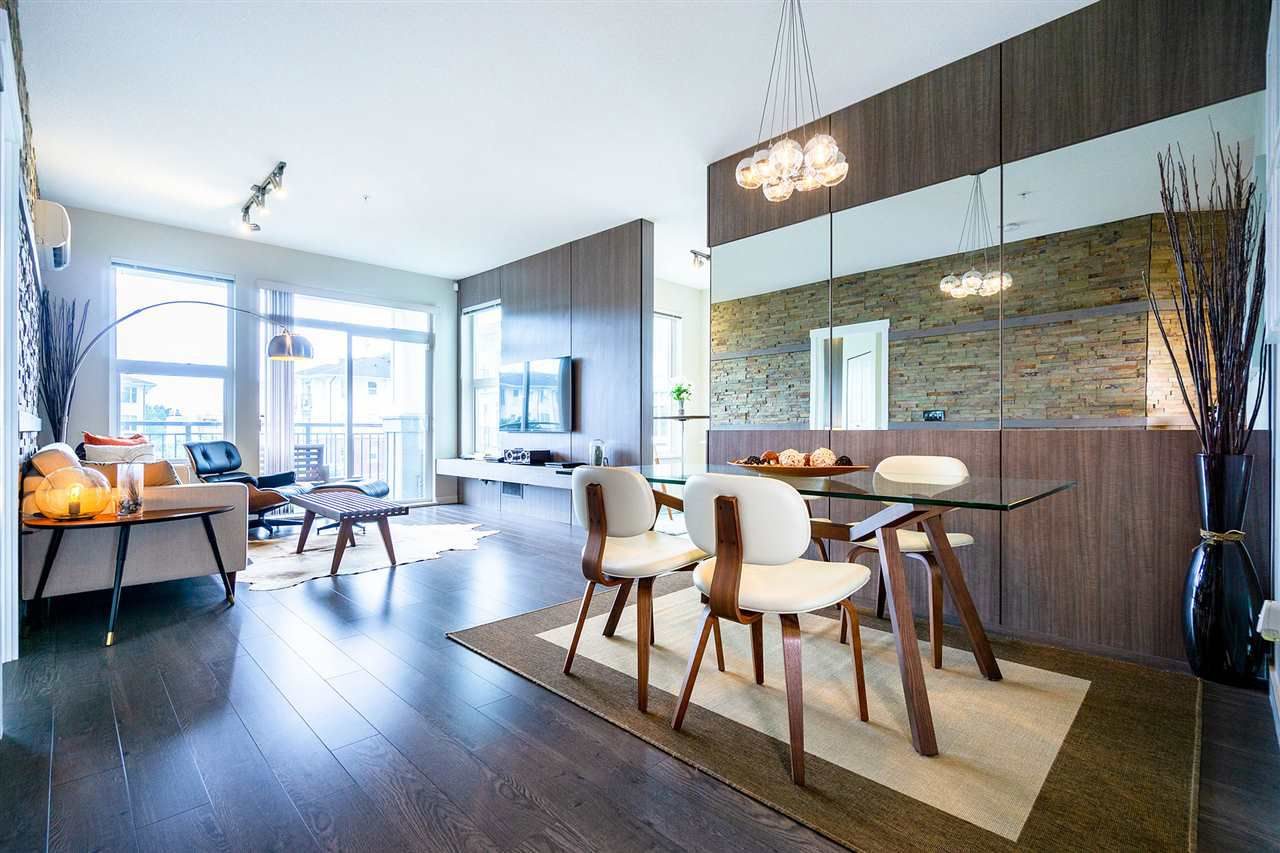 """Main Photo: 312 9399 ODLIN Road in Richmond: West Cambie Condo for sale in """"MAYFAIR PLACE"""" : MLS®# R2384997"""
