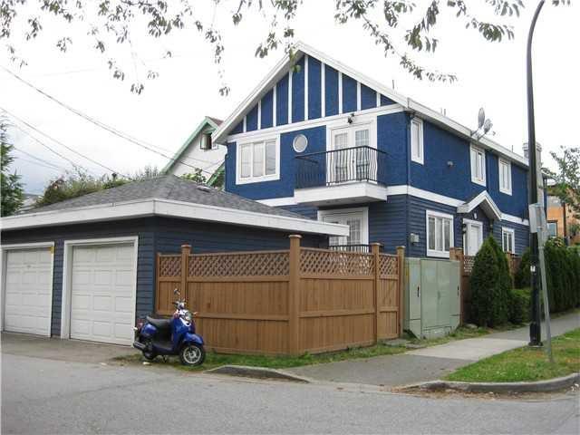 Main Photo: 1281 E 8TH Avenue in Vancouver: Mount Pleasant VE House 1/2 Duplex for sale (Vancouver East)  : MLS®# V874686