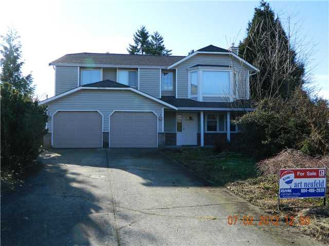 Main Photo: 12259 233A ST in Maple Ridge: East Central House for sale : MLS®# V930100