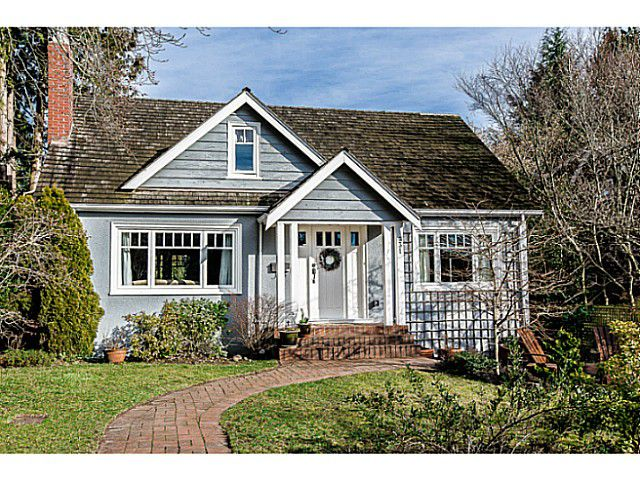 Main Photo: 331 ARBUTUS Street in New Westminster: Queens Park House for sale : MLS®# V1101805