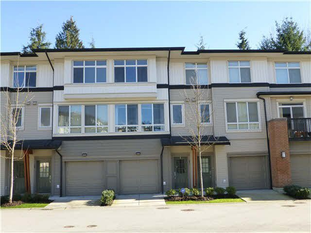 """Main Photo: 57 1125 KENSAL Place in Coquitlam: New Horizons Townhouse for sale in """"KENSAL WALK"""" : MLS®# V1106910"""
