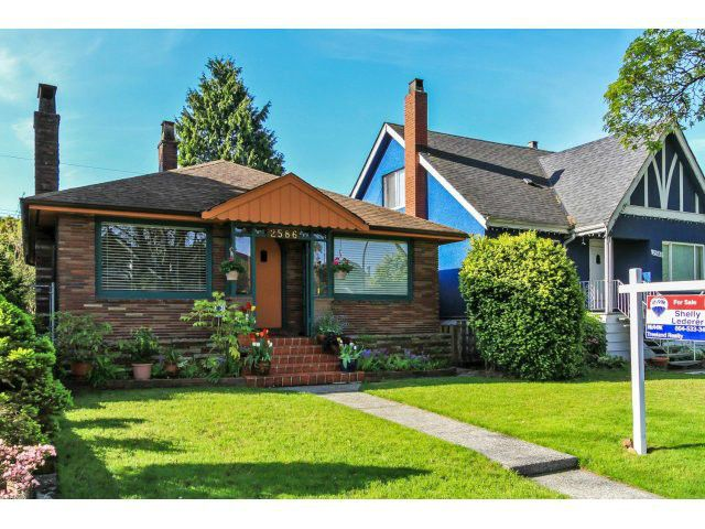 """Main Photo: 2586 WILLIAM Street in Vancouver: Renfrew VE House for sale in """"HASTINGS SUNRISE AREA"""" (Vancouver East)  : MLS®# V1117761"""