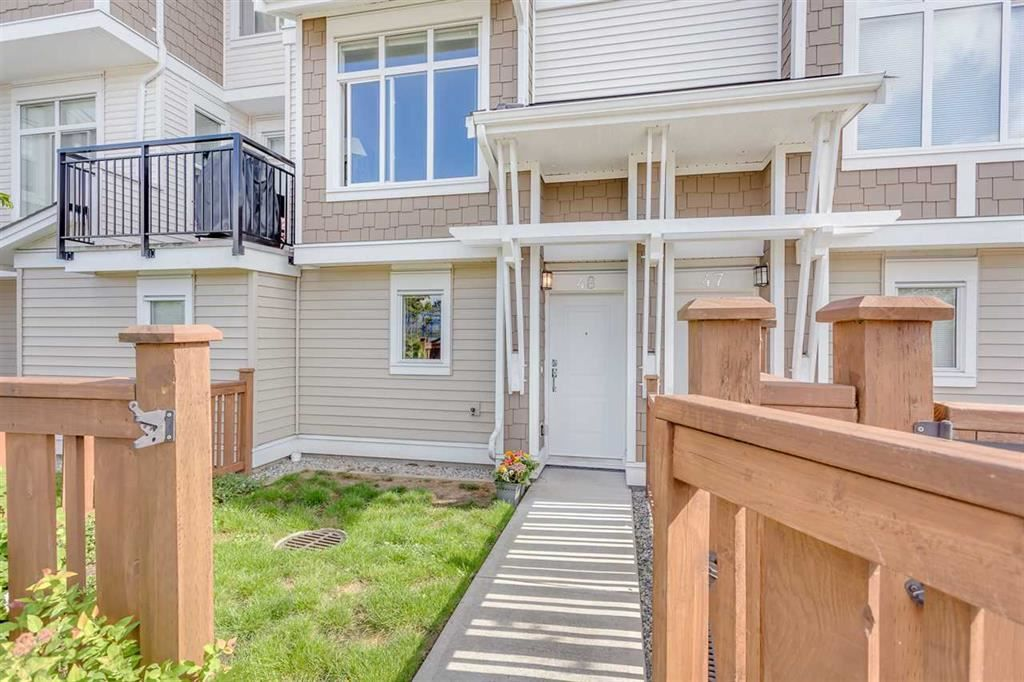 "Main Photo: 48 19433 68 Avenue in Surrey: Clayton Townhouse for sale in ""GROVE"" (Cloverdale)  : MLS®# R2110425"