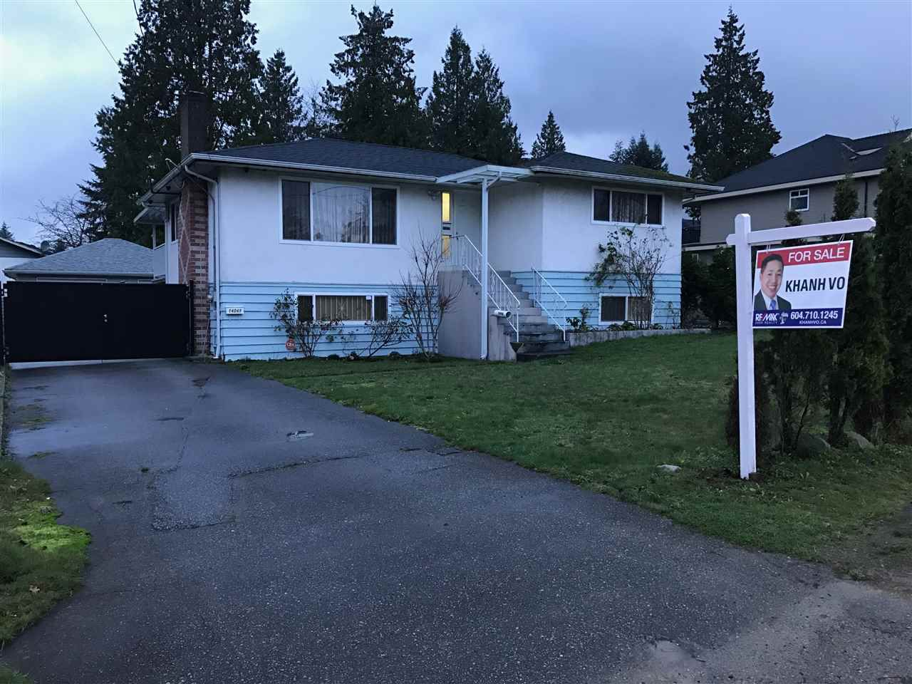 Main Photo: 14049 102A Avenue in Surrey: Whalley House for sale (North Surrey)  : MLS®# R2123092