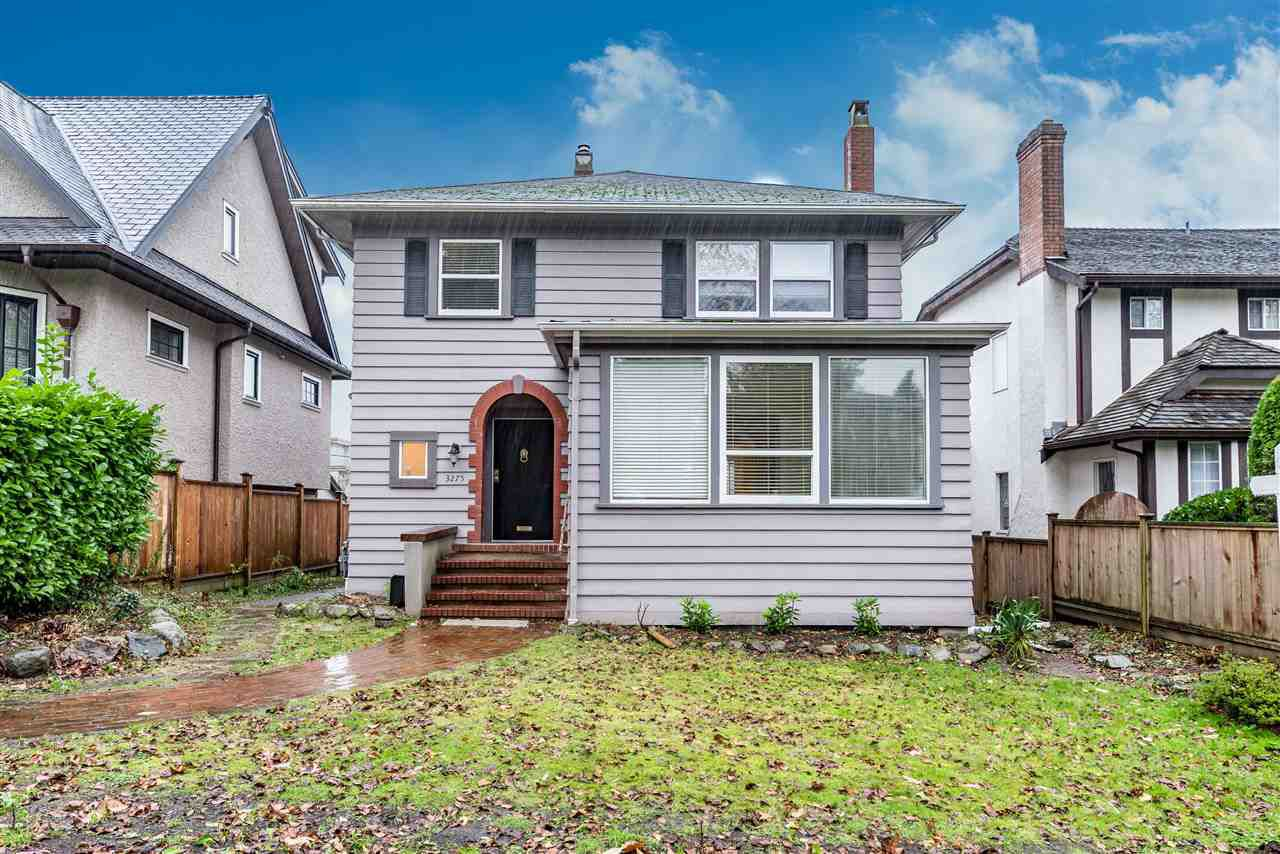 Main Photo: 3275 W 22ND Avenue in Vancouver: Dunbar House for sale (Vancouver West)  : MLS®# R2124844