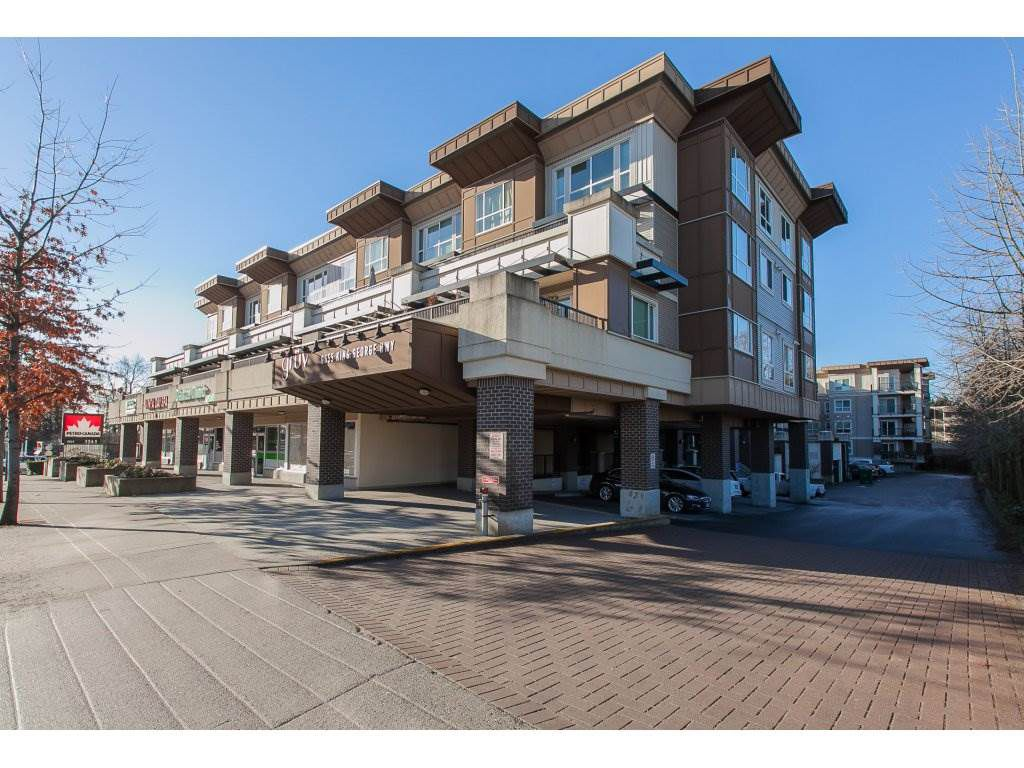 "Main Photo: 322 9655 KING GEORGE Boulevard in Surrey: Whalley Condo for sale in ""GRUV"" (North Surrey)  : MLS®# R2134761"