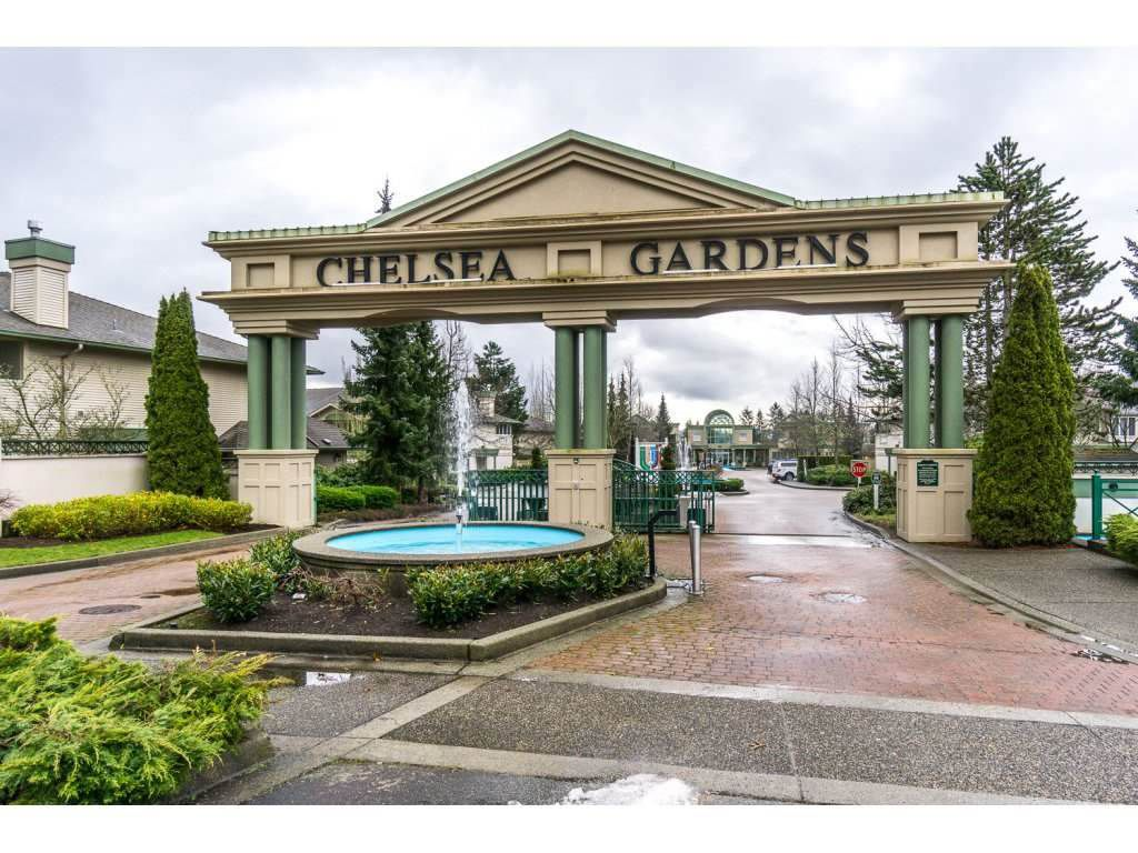 "Main Photo: 243 13888 70 Avenue in Surrey: East Newton Townhouse for sale in ""CHELSEA GARDENS"" : MLS®# R2151696"