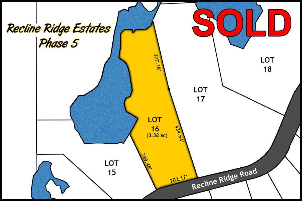 Recline Ridge Estates Phase V Lot 16