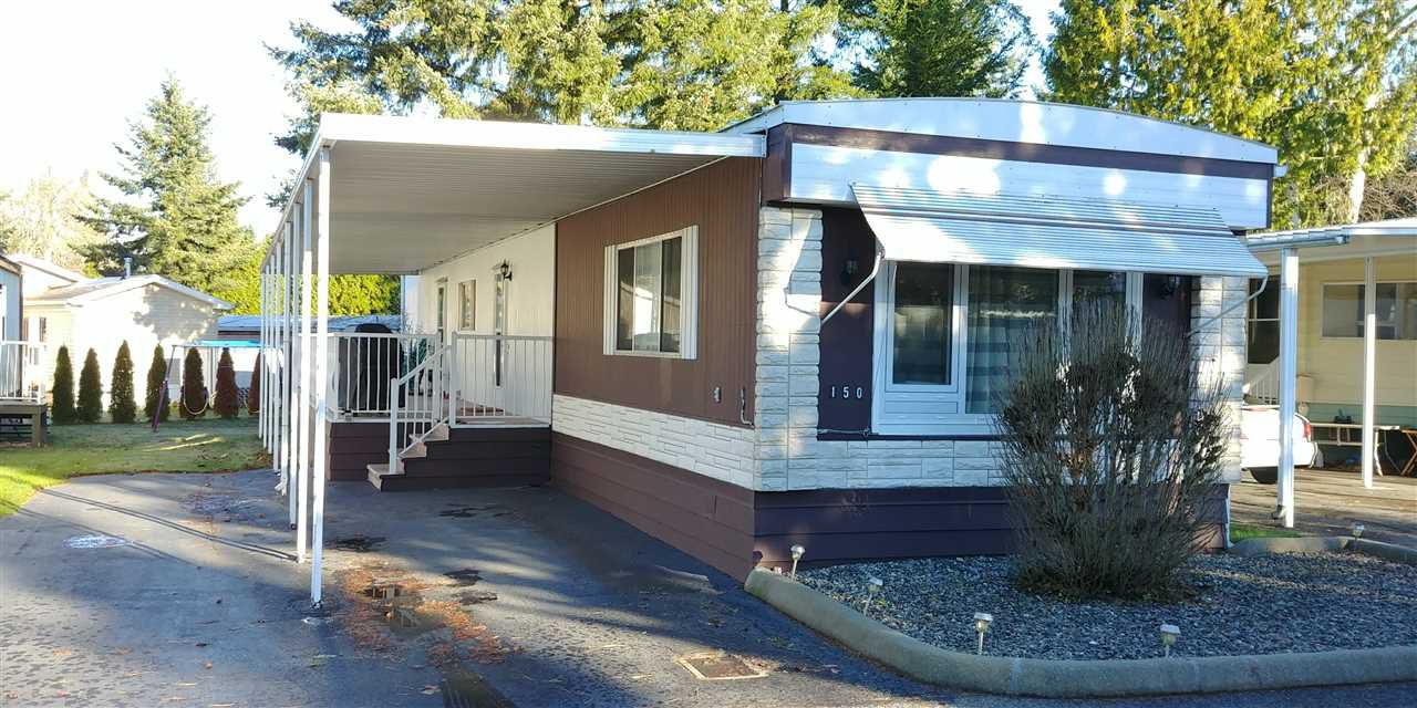 Main Photo: 150 3665 244TH STREET in Langley: Otter District Manufactured Home for sale : MLS®# R2226367