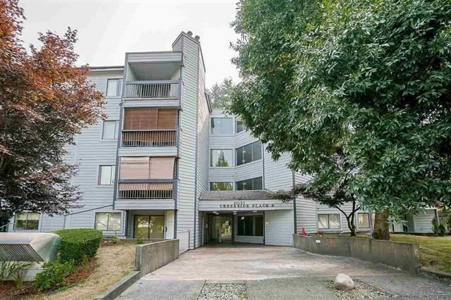 """Main Photo: 213 10530 154 Street in Surrey: Guildford Condo for sale in """"Creekside"""" (North Surrey)  : MLS®# R2239011"""