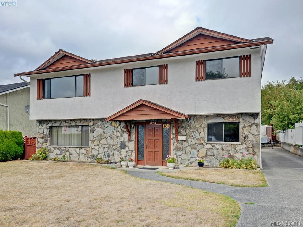 Main Photo: 1804 Rossiter Place in VICTORIA: SE Gordon Head Single Family Detached for sale (Saanich East)  : MLS®# 399611