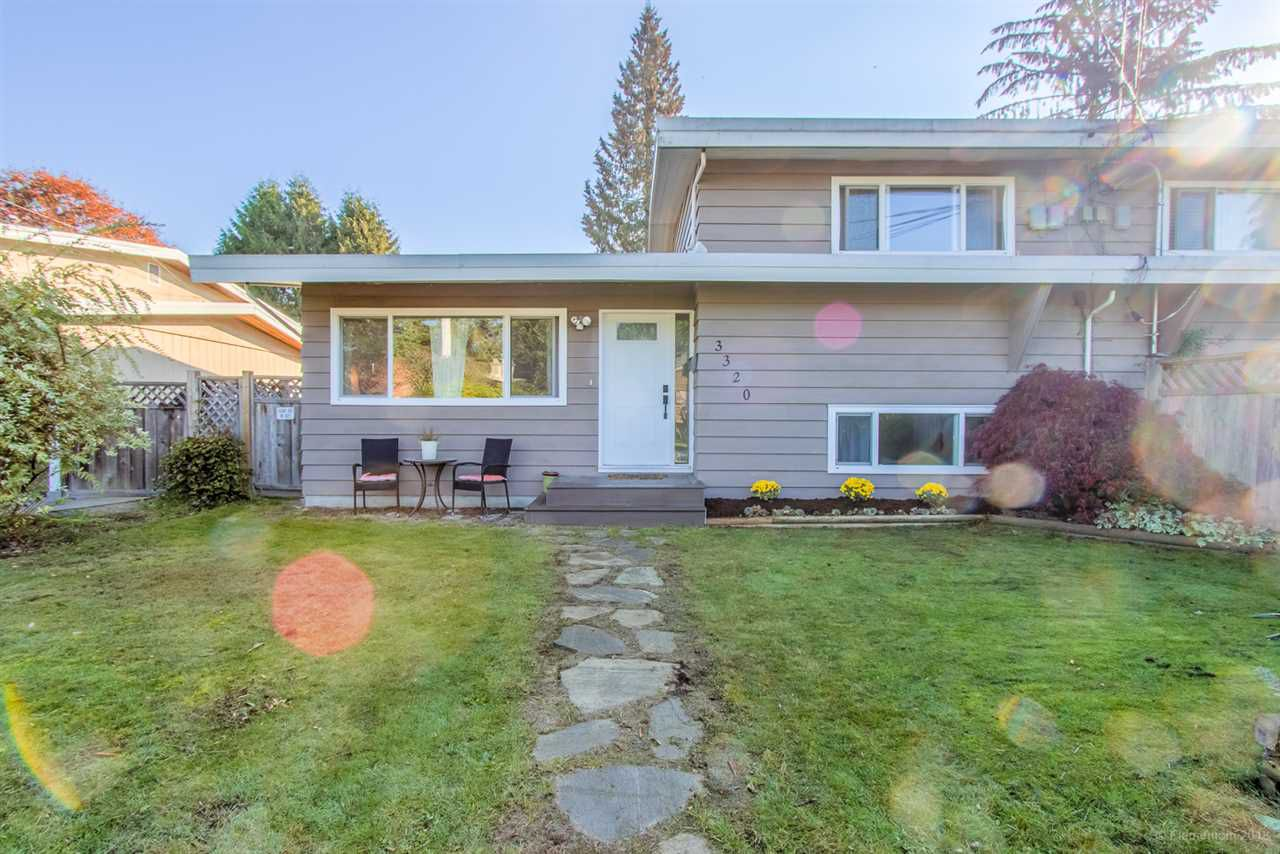 Main Photo: 3320 EDINBURGH Street in Port Coquitlam: Glenwood PQ House 1/2 Duplex for sale : MLS®# R2317364