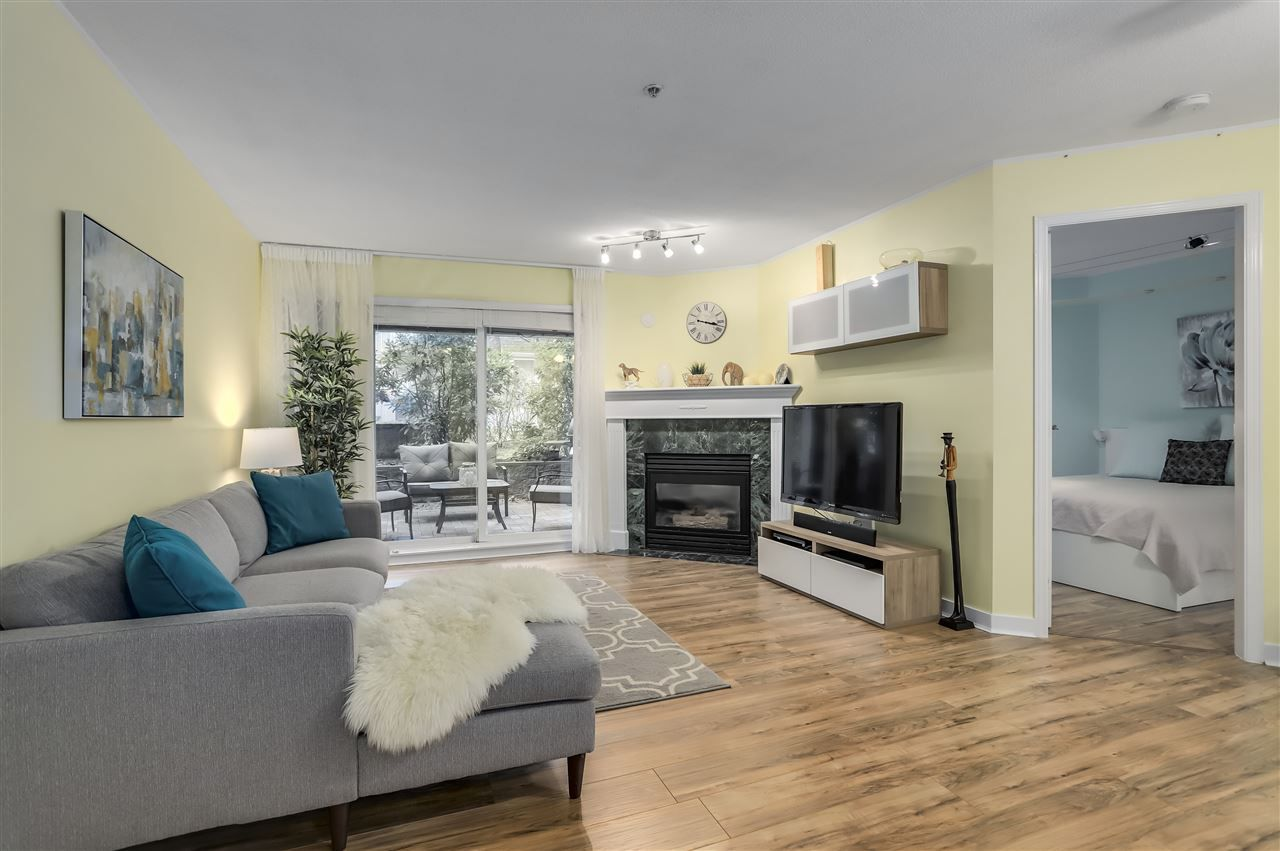 "Main Photo: 121 8100 JONES Road in Richmond: Brighouse South Condo for sale in ""Victoria Park"" : MLS®# R2332484"