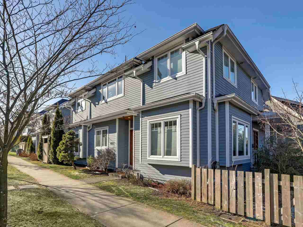 Main Photo: 4103 INVERNESS Street in Vancouver: Knight House 1/2 Duplex for sale (Vancouver East)  : MLS®# R2339162