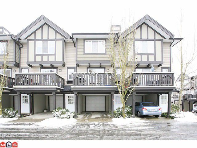 """Main Photo: 14 20176 68TH Avenue in Langley: Willoughby Heights Townhouse for sale in """"STEEPLE CHASE"""" : MLS®# F1201333"""