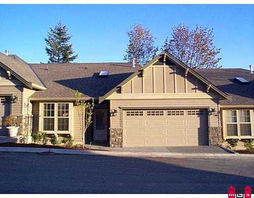 "Main Photo: 2 2842 WHATCOM RD in Abbotsford: Sumas Prairie Townhouse for sale in ""Forest Ridge"" : MLS®# F2608964"