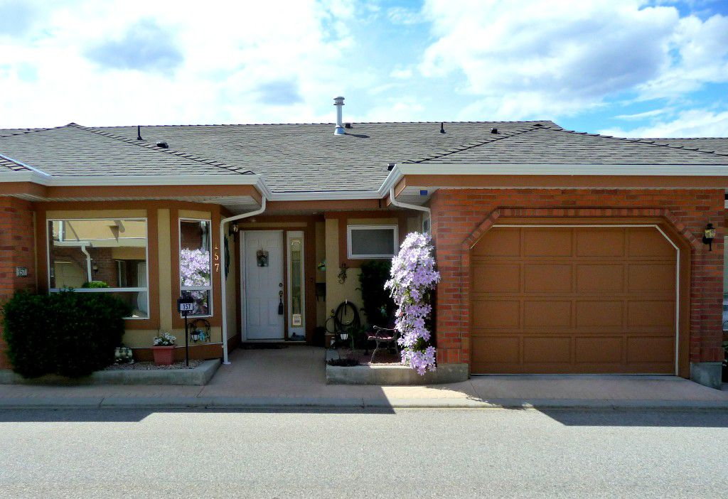Main Photo: 157 3948 Finnerty Road in Penticton: Residential Attached for sale : MLS®# 143380