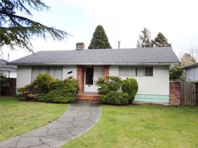 Main Photo: 6090 OAK Street in Vancouver: Oakridge VW House for sale (Vancouver West)  : MLS®# V1040195