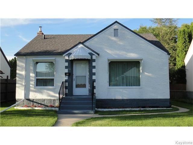 Main Photo: 325 Jamison Avenue in WINNIPEG: East Kildonan Residential for sale (North East Winnipeg)  : MLS®# 1521216