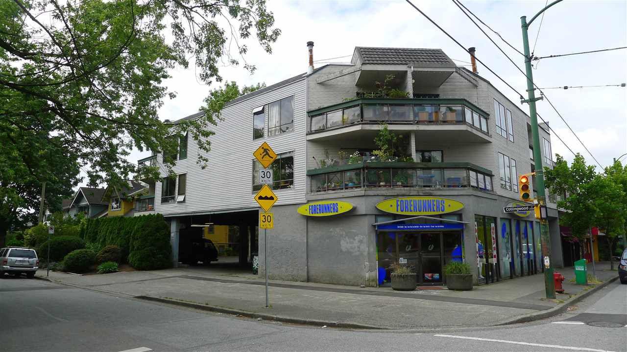 Main Photo: 201 3506 W 4TH Avenue in Vancouver: Kitsilano Condo for sale (Vancouver West)  : MLS®# R2125163