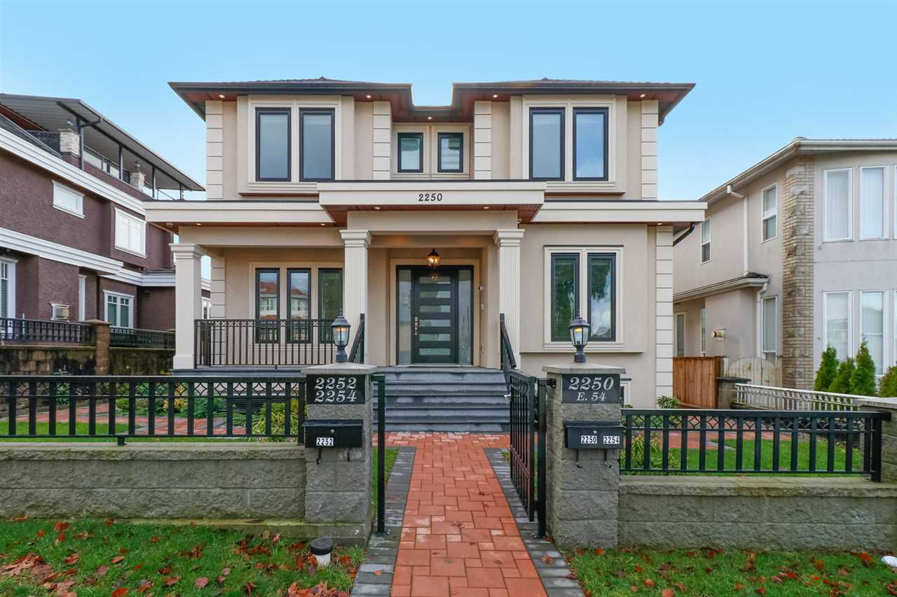 Main Photo: 2250 E 54TH Avenue in Vancouver: Fraserview VE House for sale (Vancouver East)  : MLS®# R2226009