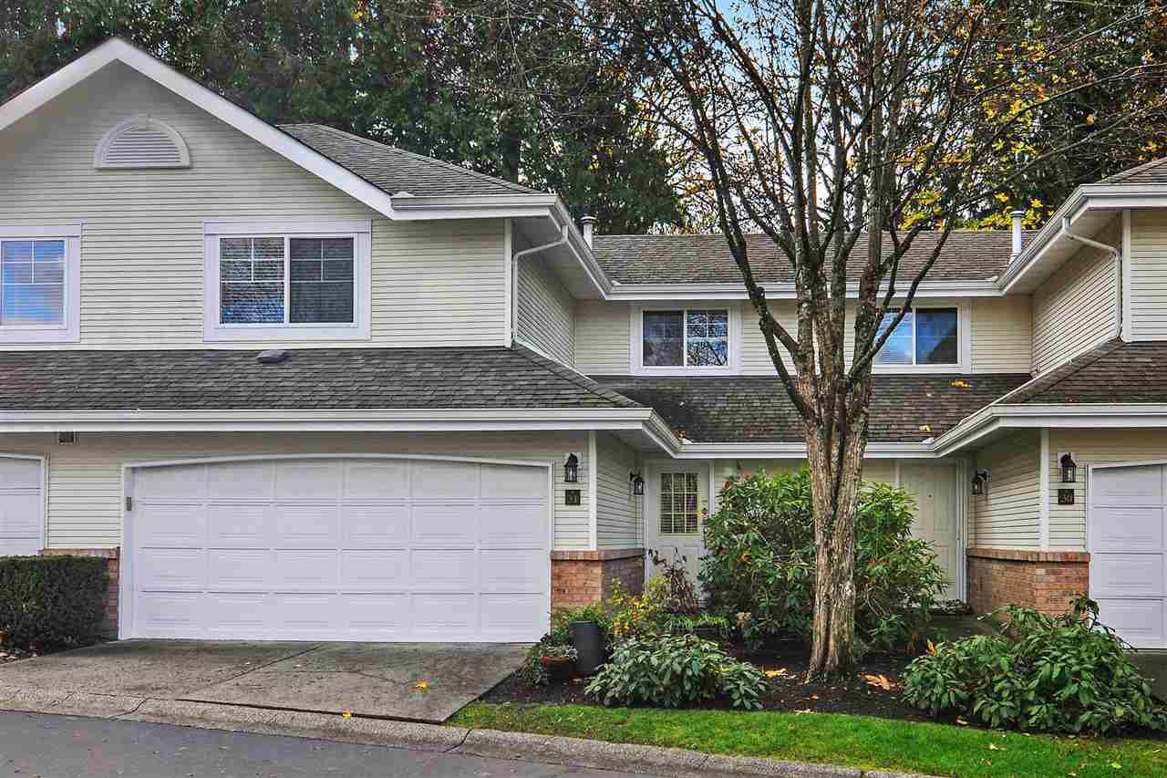 "Main Photo: 31 8675 WALNUT GROVE Drive in Langley: Walnut Grove Townhouse for sale in ""Cedar Creek"" : MLS®# R2320246"